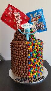 The Anti-Gravity Mr Meeseeks cake.