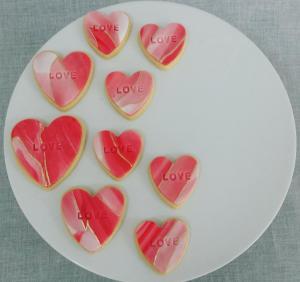 Themed fondant sugar cookies