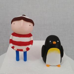 Figurines inspired by Lost and Found - Oliver Jeffers