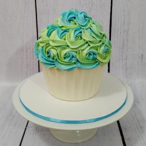 Peter Rabbit themed giant cupcake