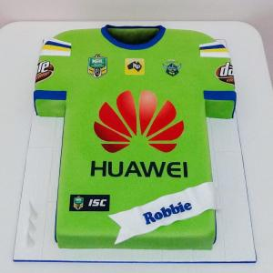 Canberra Raiders jersey cake
