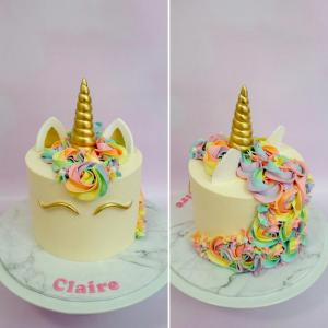 Cookies n Cream Unicorn Cake