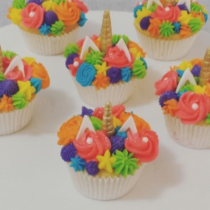 Another unicorn cupcake order
