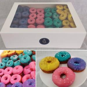 120 mini donuts for Sweet ChariTea fundraiser 2017