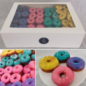 120 mini donuts for Sweet ChariTea fundraiser 2017
