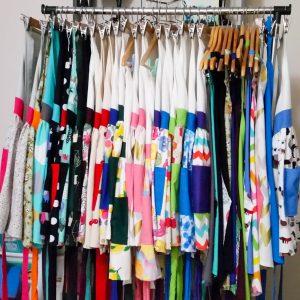 Selection of designer aprons