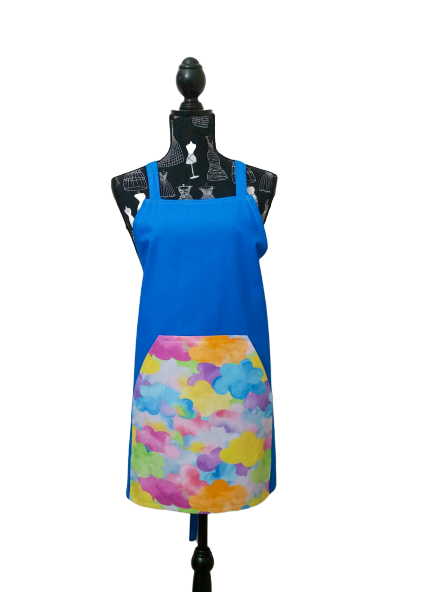 Psychedelic Storm standard apron