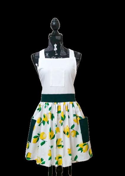 Lemony Life deluxe apron