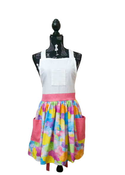 Psychedelic Storm deluxe apron