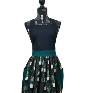 Cool Cactus deluxe apron