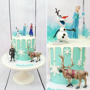 Frozen themed cake.