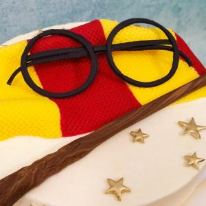Harry Potter Cake - details